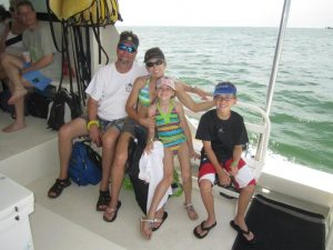 florida tax attorney on boat with family